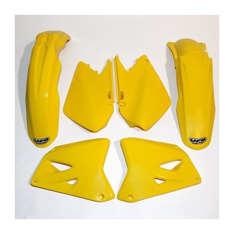 Kit plastique Ufo Plast pour Suzuki RM125 01-02