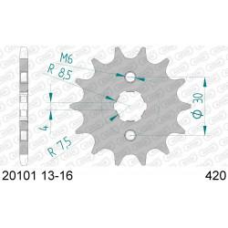 Pignon Afam acier pour Honda CR80R (petites roues) 82