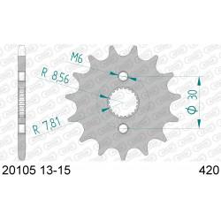 Pignon Afam acier pour Honda CR85R (petites roues) 03-07