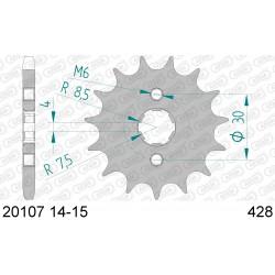 Pignon Afam acier pour Honda CRF100F 04-13