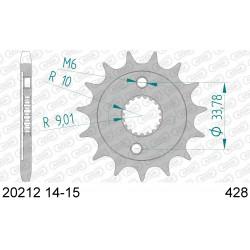 Pignon Afam acier pour Honda CRF150-R (petites roues) 07-15 Convers. 428
