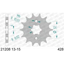 Pignon Afam acier pour HM CRE125-F 09-11