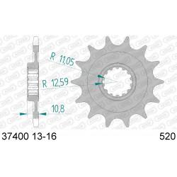 Pignon Afam acier pour Aprilia RXV450 06-11
