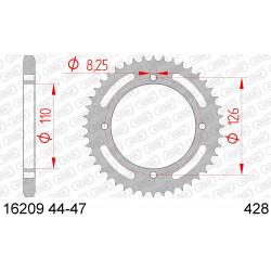 Couronne Afam Acier pour Kawasaki KLX125 10-13
