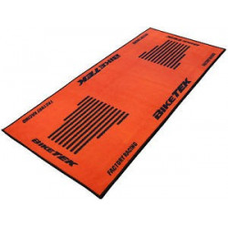 Tapis de sol environnemental Orange/Noir