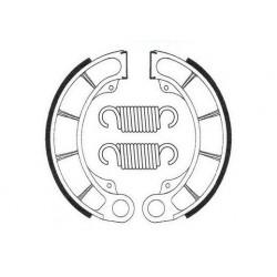 Machoires de frein arrière Bendix BA057 pour Honda CR50R 84-85