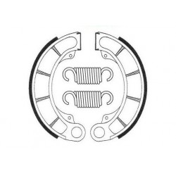 Machoires de frein arrière Bendix BA013 pour Honda CR80R 80-81