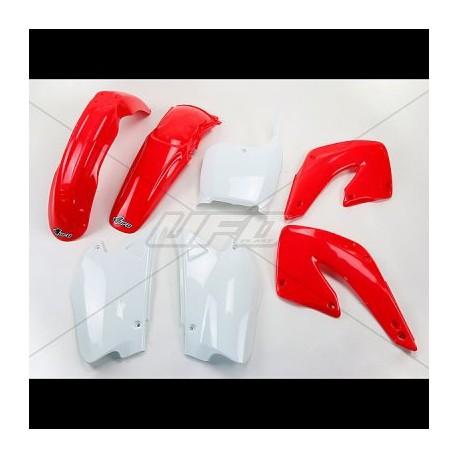 Kit plastique Ufo Plast pour Honda CR125R 00-01
