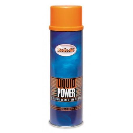 spray de graisse filtre air liquid power twin air 500 ml pi ces d tach es moto cross mud. Black Bedroom Furniture Sets. Home Design Ideas