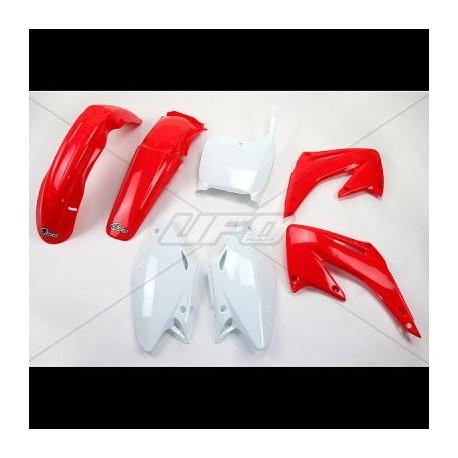 Kit plastique Ufo Plast pour Honda CR125R 02-03