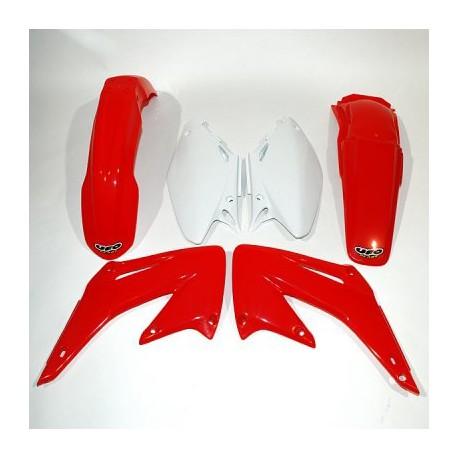 Kit plastique Ufo Plast pour Honda CR125R 04