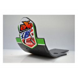 Semelle AXP Racing PHD Anaheim verte pour Kawasaki KX450F 09-15