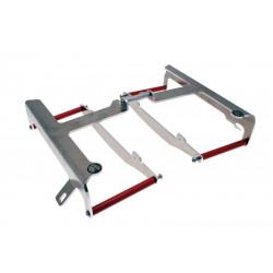 Protections de radiateur AXP Racing rouges pour Husqvarna WR250 10-11