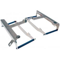 Protections de radiateur AXP Racing bleues pour Suzuki RM-Z250 07-09
