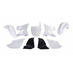 Kit Plastiques Racetech Replica 15-18 blanc/noir pour Yamaha YZ125 02-18
