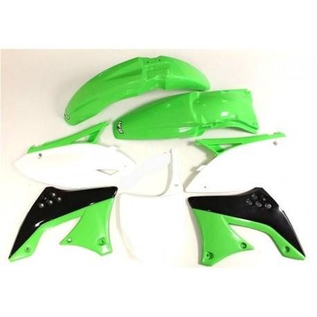 Kit plastique Ufo Plast pour Kawasaki KX450F 09-11