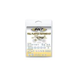 Kit visserie plastique complet pour KTM SX,SX-F 11-15/Husqvarna TC,FC 14-15