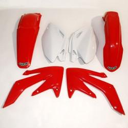 Kit plastique Ufo Plast pour Honda CRF250R 04-05