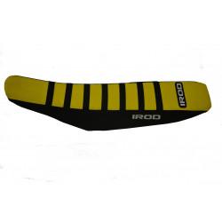 Housse de selle renforcée IROD jaune pour Husqvarna 125TC 14-15