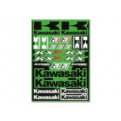 Planche d'autocollants Kawasaki
