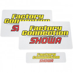 Autocollants de protection de fourche Factory Connection - Showa