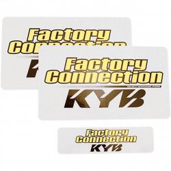 Autocollants de protection de fourche Factory Connection - KAYABA