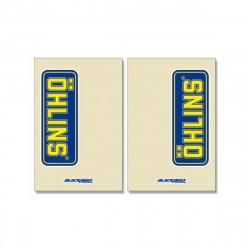 Autocollants de protection de fourche Ohlins