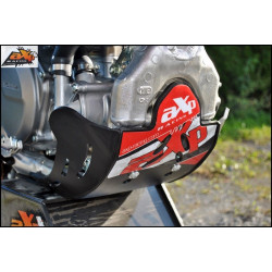 Sabot GP PHD AXP Racing Noir déco rouge pour HM CRE250F 05-13