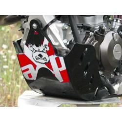 Sabot GP PHD AXP Racing Noir déco rouge pour Yamaha YZ250F 14