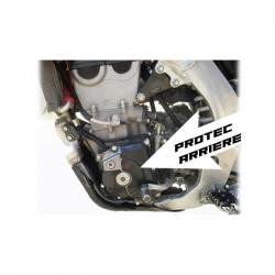Protection carbone de carter d'allumage arrière pour Suzuki RMZ450 10-19
