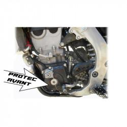 Protection carbone de carter d'allumage avant pour Suzuki RMZ450 10-17