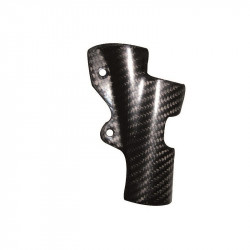 Protection carbone de maître cylindre arrière pour Yamaha YZ125 06-15