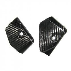 Protection carbone de plaques latérale pour Honda CRF250 10-13