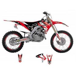 Kit déco Dream Graphics 3 pour Honda CRF250R 14-17/CRF450R 13-16