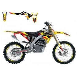 Kit déco Dream Graphics 3 pour Suzuki RM85 02-16