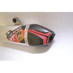 Silencieux carbone Fresco pour Yamaha 125YZ 02-17