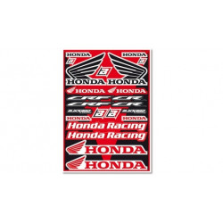Planche d'autocollants Honda