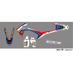 Kit déco Kutvek Racer pour Honda CRF250R 14-17