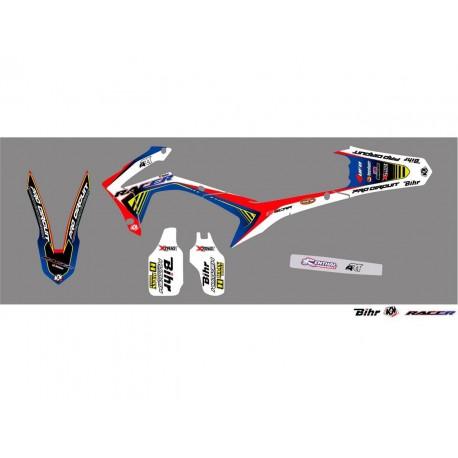 Kit déco Kutvek Racer pour Honda CRF250R 14-16
