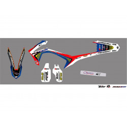 Kit déco Kutvek Racer pour Honda CRF450R 09-12