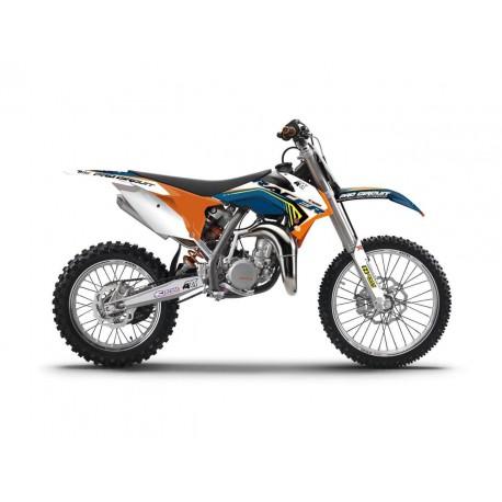 Kit déco Kutvek Racer pour KTM SX85 06-12