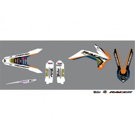 Kit déco Kutvek Racer pour KTM EXC125 15-16