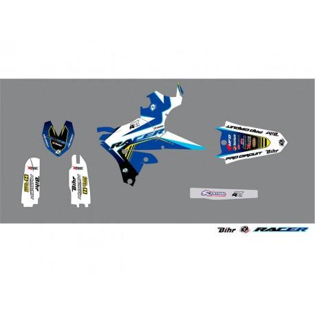 Kit déco Kutvek Racer pour Yamaha WR450F 15-16
