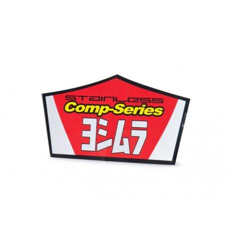 Autocollant pour silencieux Yoshimura type RS2 comp-serie