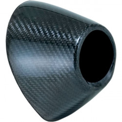 Embout carbone pour silencieux Yoshimura type RS4