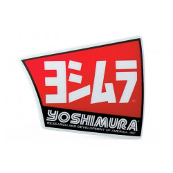Logo pour silencieux Yoshimura type RS4