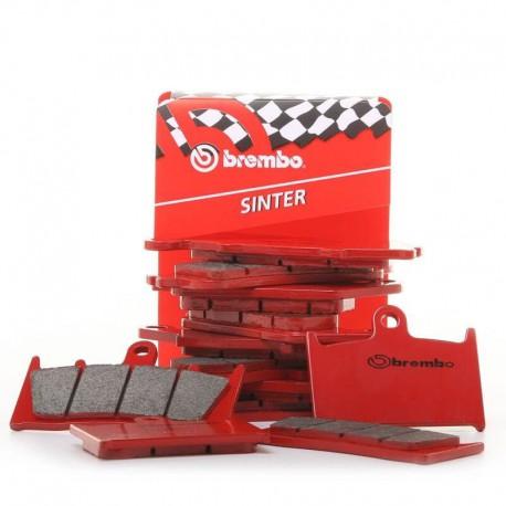Plaquettes de frein avant Brembo type SX pour Honda CR 125 R  84-86