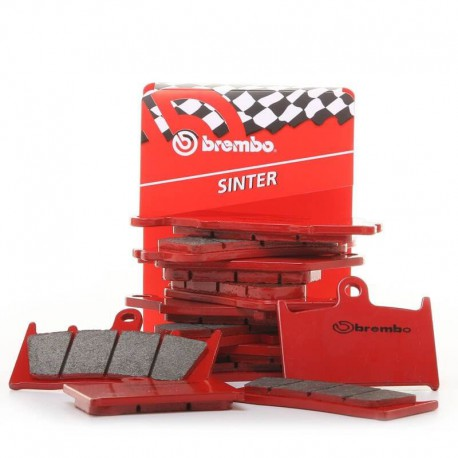 Plaquettes de frein avant Brembo type SX pour Husqvarna CR 50 11-13