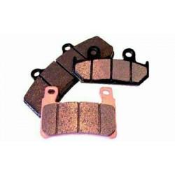Plaquettes de frein Bendix Loisir MA189 pour Aprilia ETX125 99-02