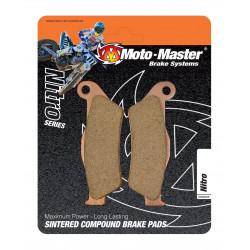 """Plaquettes de frein avant Moto-Master """"Nitro"""" pour Aprilia MXV450 2005-2012"""